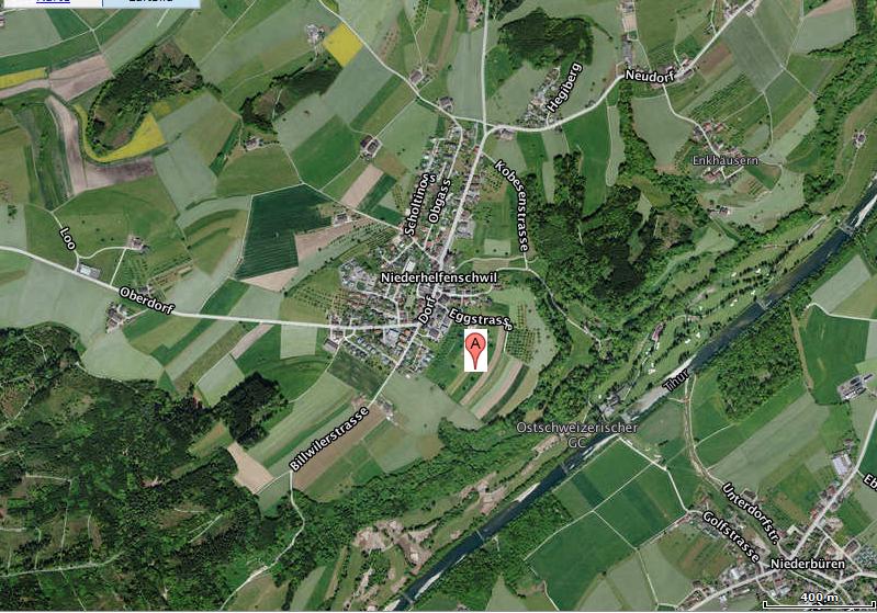 Lageplan Egg-Oberwis 9527 Niederhelfenschwil SG